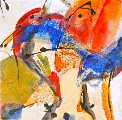 Upstream by judy gilmer, Painting - Acrylic   Zatista