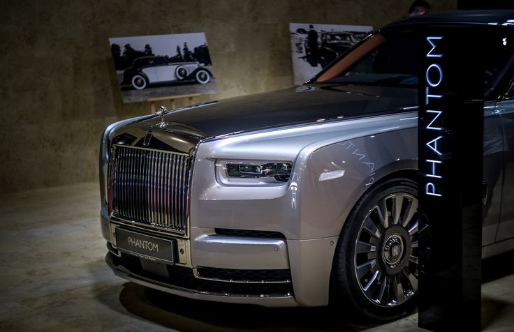 https://flic.kr/p/24rHXVS | Rolls-Royce Ghost 2018 | SIAB Bucharest
