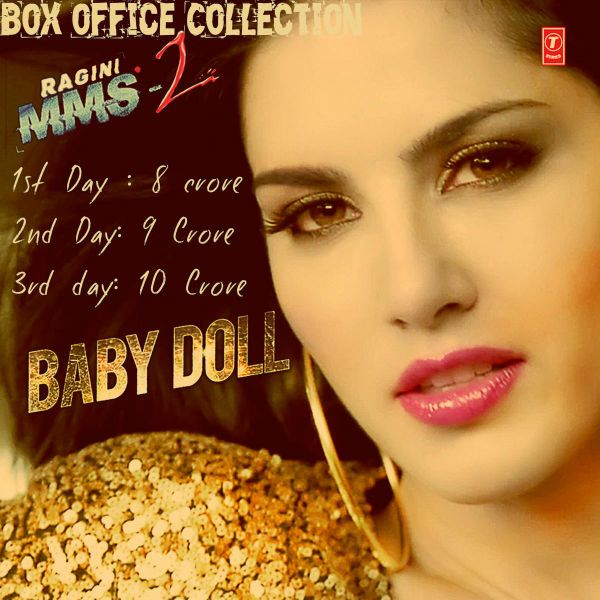 Ragini MMS 2 Box Office Collection Report   Sunny Leon