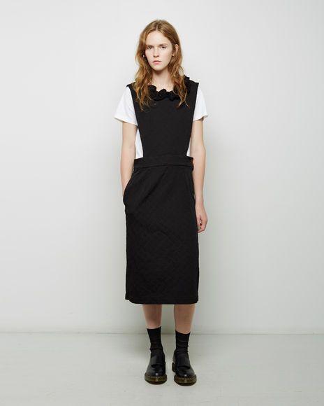 Comme des Garçons Comme des Garçons | Ester Floral Jacquard Pinafore Dress  | La Garçonne