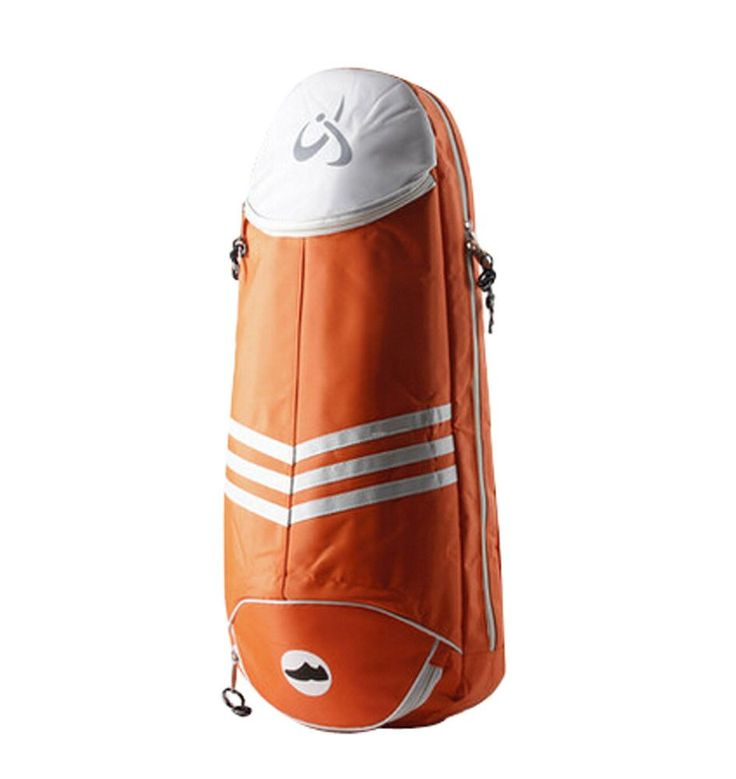 Women's Men's Badminton Equipment Bag Badminton Racket Bag ORANGE