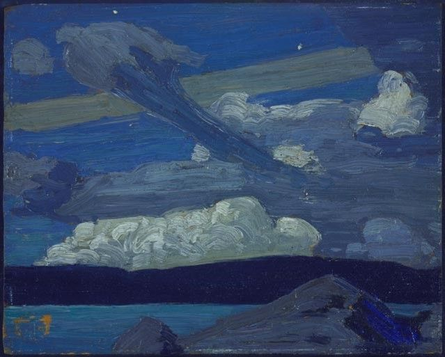Tom Thomson's Zeppelins