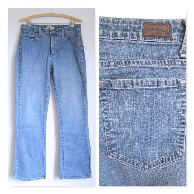 Riders Boot Cut Jeans Cotton Blend- 10M #Lee #BootCut