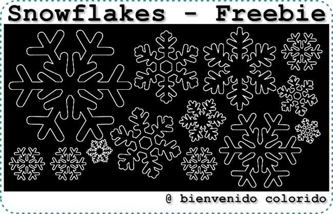 bienvenido colorido: Ein Winterkleid... und ein Plotter-Freebie!