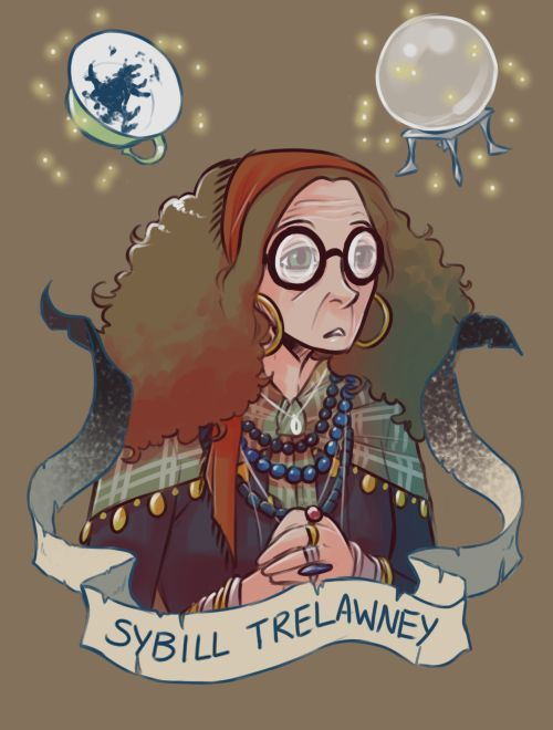 FanArt de personajes de Harry Potter...we all had a teacher like her...little bit underestimate!