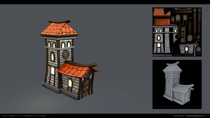 medieval house low poly - Google Search