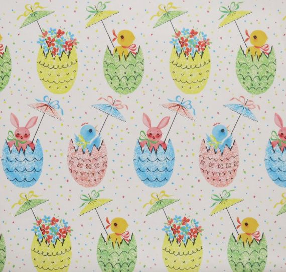 562 best vintage wrap 2 images on pinterest wrapping papers vintage tie tie easter gift wrap wrapping by midcenturyaddiction negle
