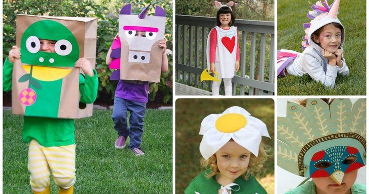 CARNEVALE: 10 maschere e costumi FAI DA TE per i vostri bambini