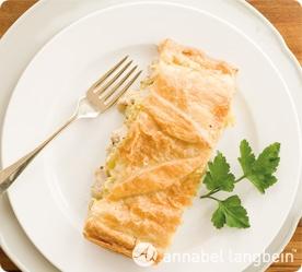 Annabel Langbeins Leek & Mushroom Chicken Pot Pie