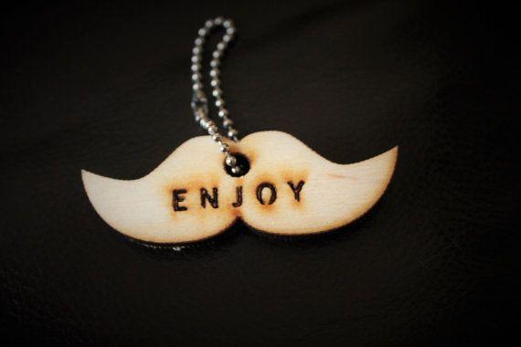 Guarda questo articolo nel mio negozio Etsy https://www.etsy.com/it/listing/257007502/moustache-enjoy
