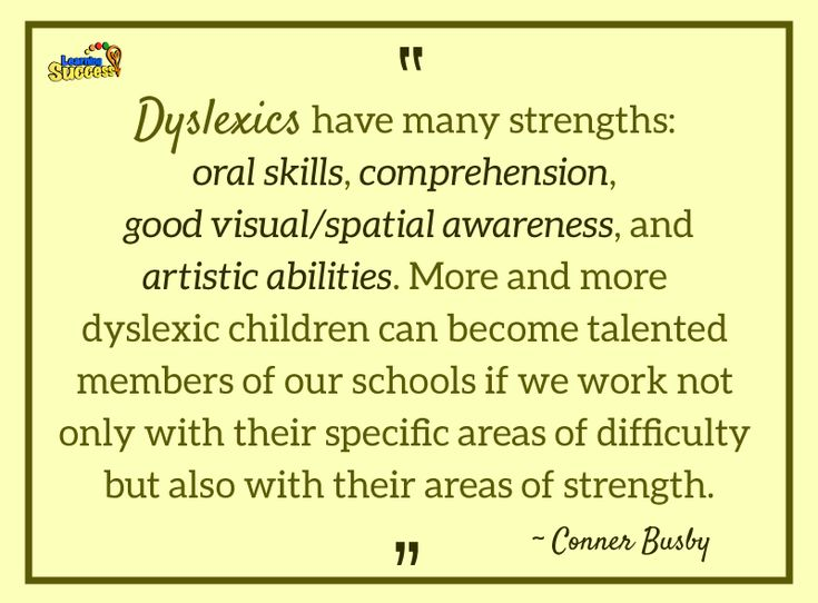 The Basics of Dyslexia: This video summarizes some of the difficulties and advantages of dyslexia. #education