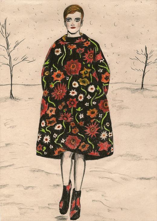"""""""Flowers"""", Jil Sander A/W11"""