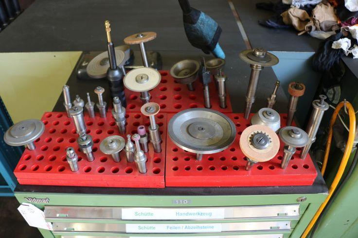 SCHÜTTE WU 3 MS Werkzeug-Schleifmaschine: Gebraucht kaufen