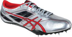 ASICS  SonicSprint™ - Silver/Fire Red/Black