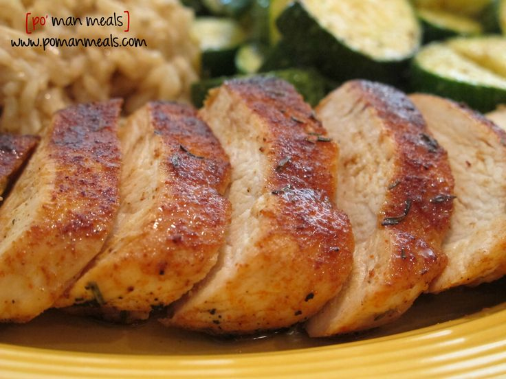 po' man meals sweet rub roasted chicken #chicken #roastedchicken