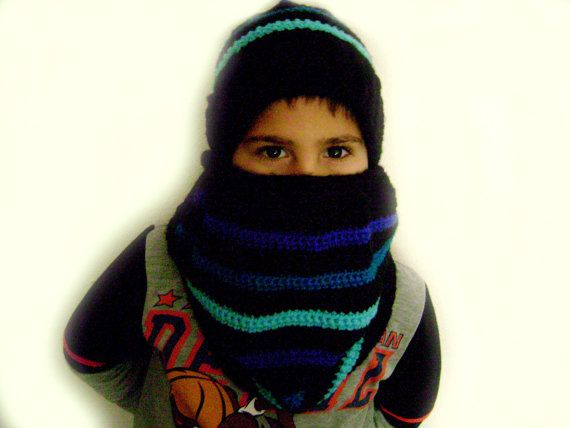 Crochet children hat and scarf set.Gift set by RiaCrochetCreations