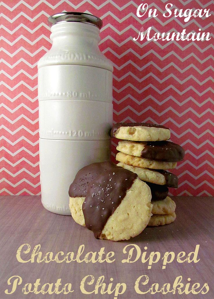 Chocolate Covered Potato Chip Cookies | Recipes | Pinterest