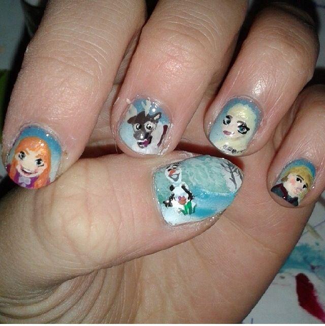 Frozen. Nails.