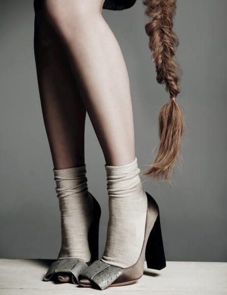 27 best S O C K S images on Pinterest   Shoes, Accessories and Braids
