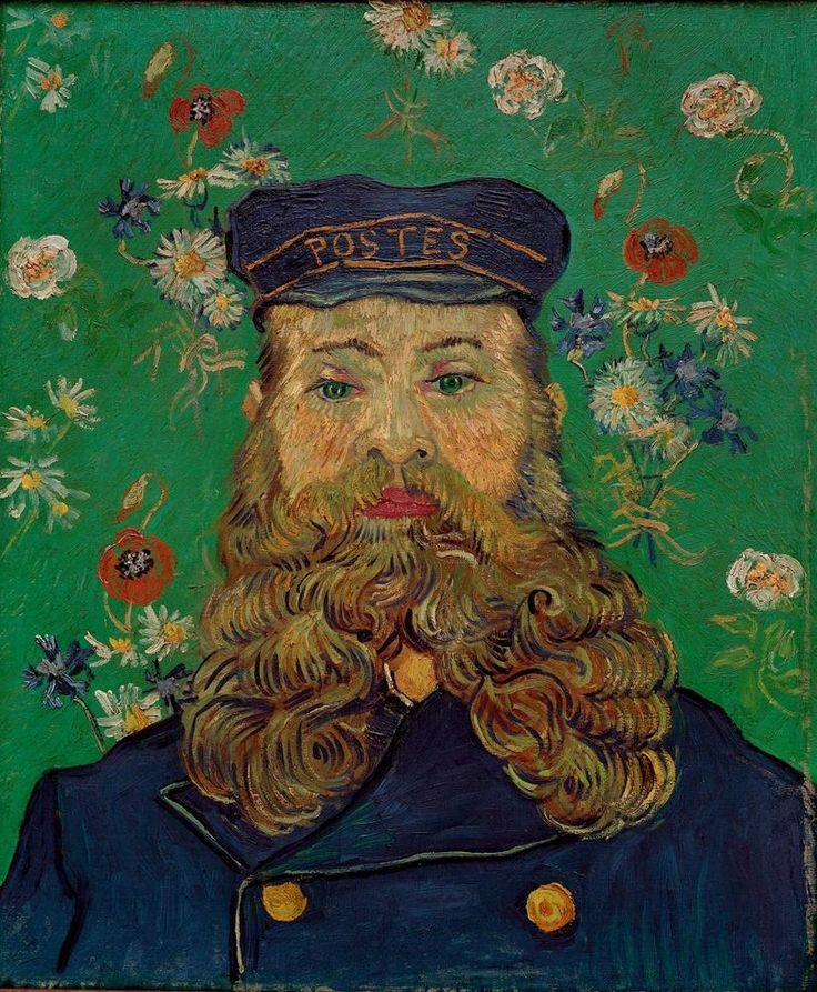 Vincent Willem van Gogh, The Postman Roulin, 1889