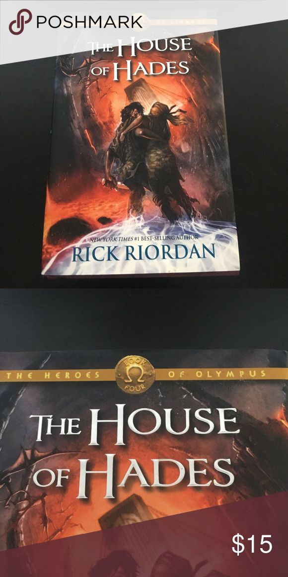 The House of Hades - Rick Riordan. (BRAND NEW) The House of Hades Book by Rick Riordan.  Book 4. Story until 583..  Glossary starts from 584 - 597. Brand New Also Other