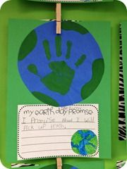 Super simple Earth Day promise activity - how effectiveTeaching, Grade Parade, Fun Ideas, Kids, Earth Day, Education, Classroom Ideas, Crafts, Earthday