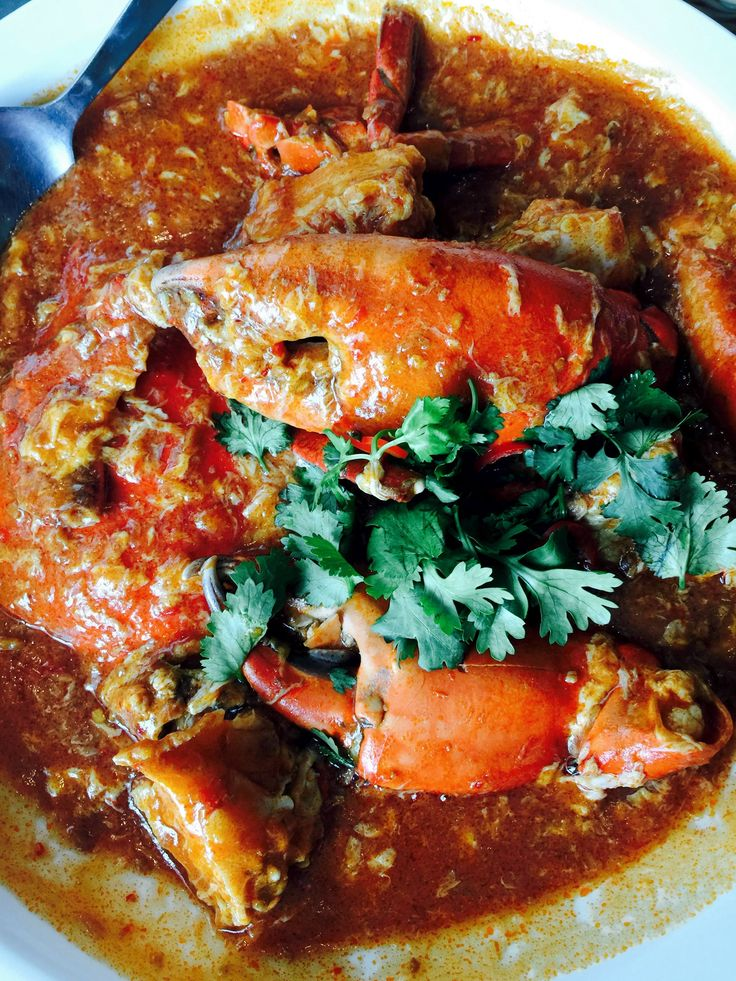 Singapore Chilli Crab Recipe