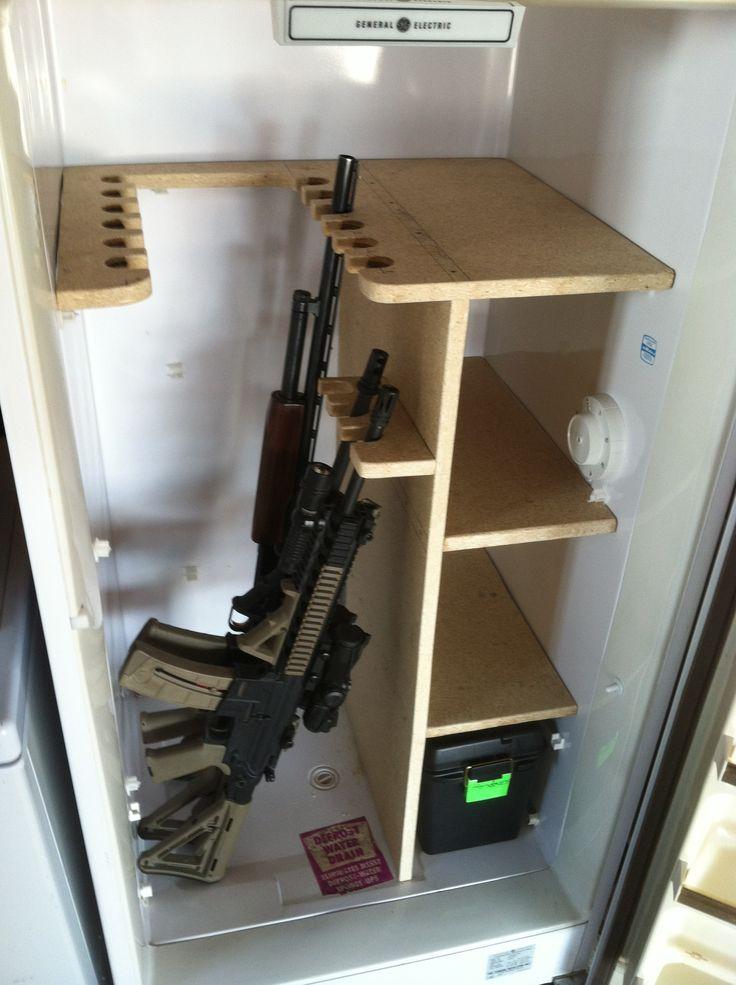Freezer Gun Safe 13 Gun Plus Storage Gun Stuff