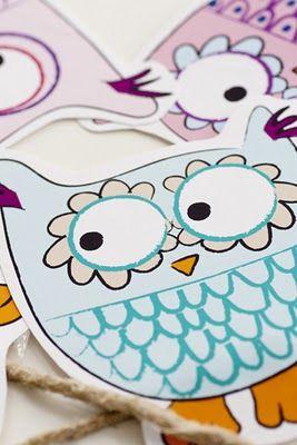Owls FREE Printables