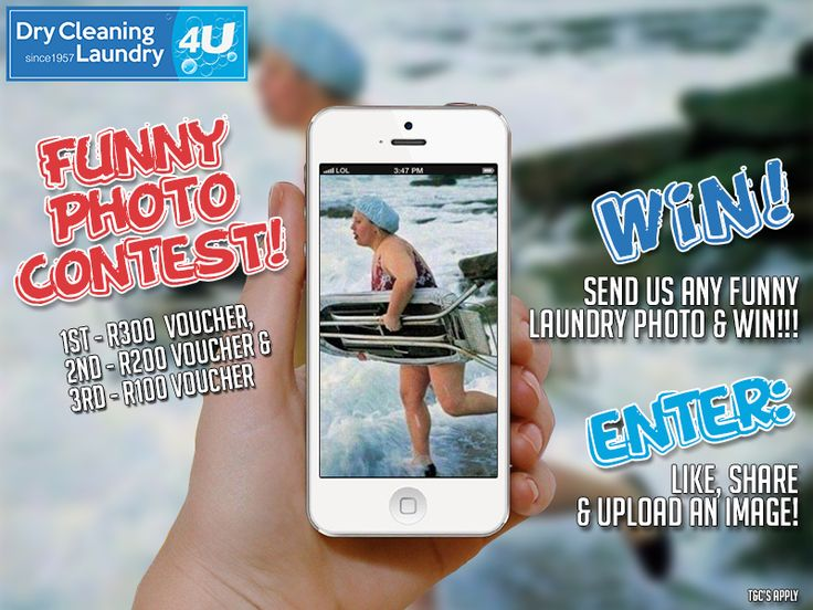 WIN a dry cleaning voucher!   To enter, Like, share and send us ANY funny laundry picture! Funniest photo will win!   Terms and conditions apply: http://ow.ly/PA3kG