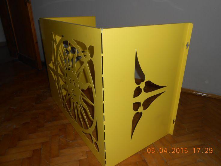 lazer kesim klima kamuflaj paneli  optimal metalden dekoratif koruma  paneli