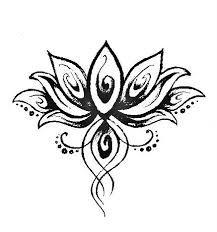 Image result for feminine lotus tattoos