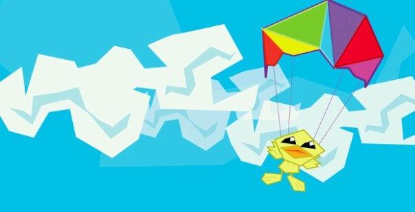 Flying Duck - Kubism