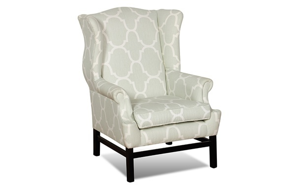 Cabot Bay Wingback - Coco Republic. Bedroom chair
