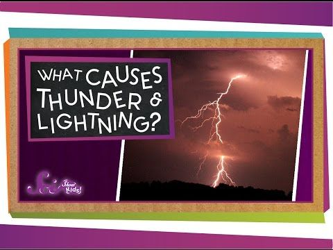What causes Thunder. Skip to 1:49 See also: http://www.weatherdudes.com/facts_display.php?fact_id=46