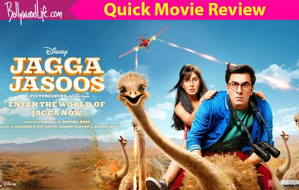 Jagga Jasoos quick movie review: Ranbir Kapoor and Katrina Kaif's chemistry saves the first half from being a tiring musical #FansnStars