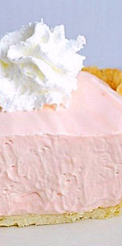 Easy Pink Lemonade Pie ❊
