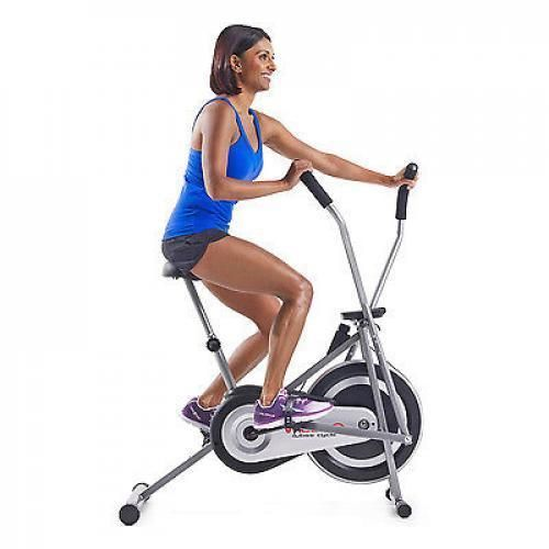 Exercise Upright Bike Indoor Stationary Bicycle Cardio Workout Trainer Cycle Gym #Weslo