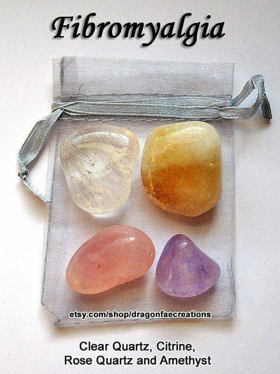 Crystals for fibromyalgia