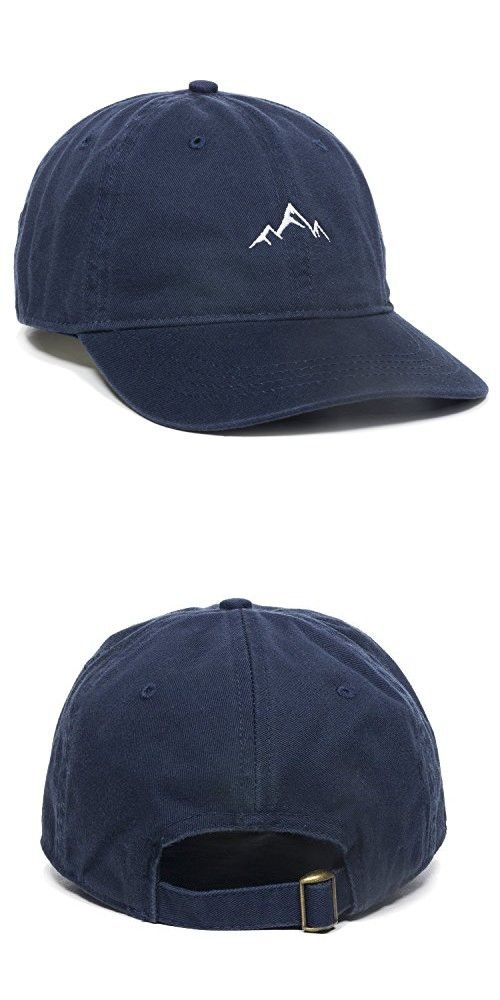 Outdoor Cap -Adult Mountain Dad Hat-Unstructured Soft Cotton Cap ... d9bd17458d9