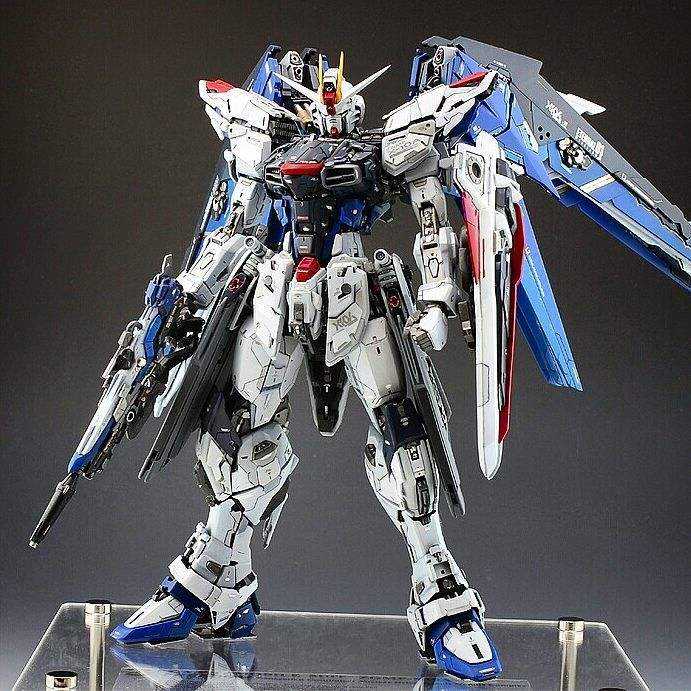 """GundamerPat on Instagram: """"The most detailed Freedom Gundam build ever made with amazing results. By Yoshify. 15 of 18. This is for the Gundam Seed / Seed Destiny /…"""""""