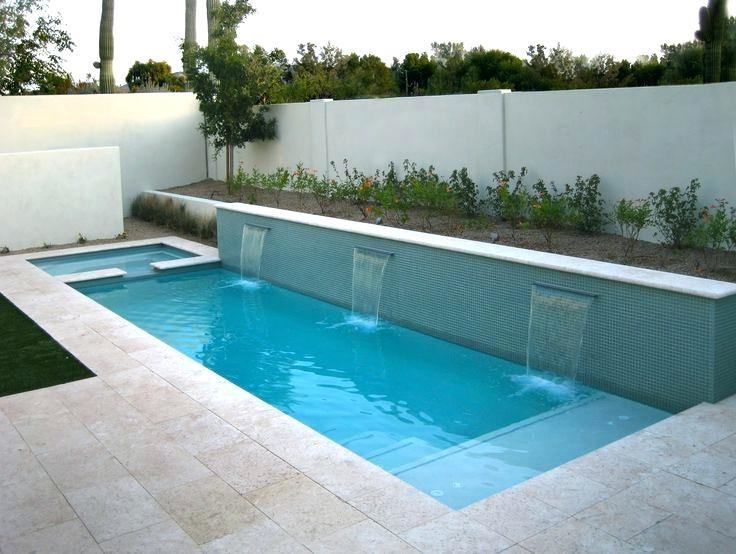 Backyard Lap Pool Designs Small Pool Design Small Backyard