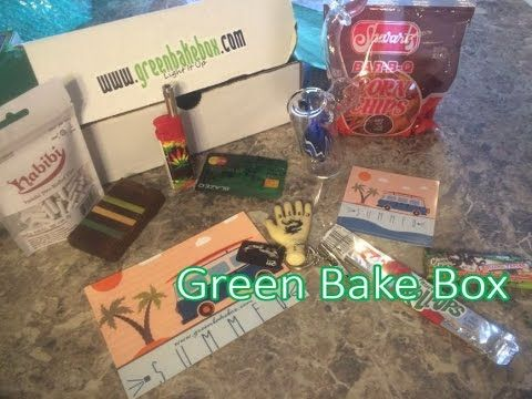 Green Bake Box August 2016 Unboxing & Review