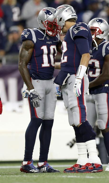 fe0c43f6 FOXBORO — The Tom Brady-Josh Gordon connection is getting there. That was  evident in the Patriots 43-40 win over the Kansas City Chiefs on Sunday  night.