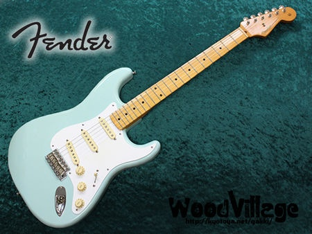 Fender Mexico Stratocaster  Surf Greenがいい色。