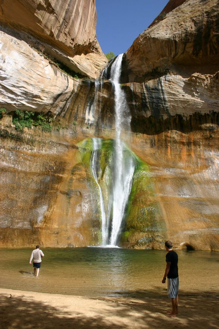 Calf Creek Falls in Southern Utah near Escalante and Grand Staircase National Monument