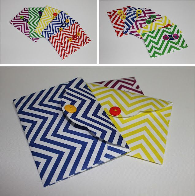 DIY envelopes. SO cute for a gift! #envelope