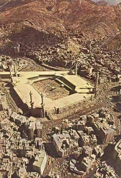 An old picture of # Mecca
