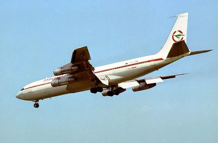 Vintage Cameroon Airlines Boeing 707
