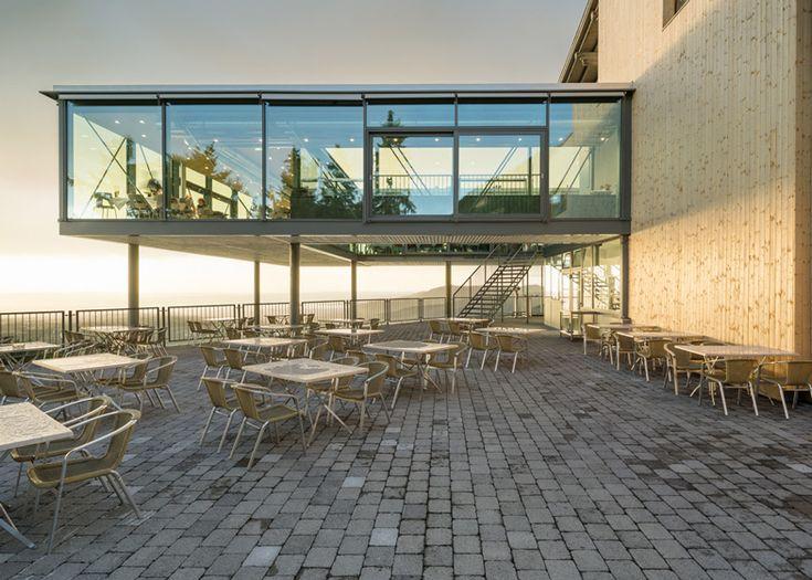 Panoramarestaurant Karren by Architekten Rüf Stasi Partner